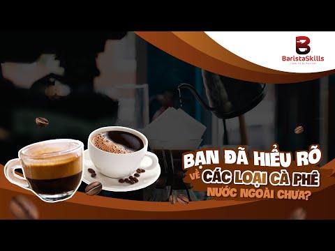 [BARISTA SKILLS] Phân biệt Espresso- Cappuccino- Latte- Caramel Macchiato- Mocha- Americano