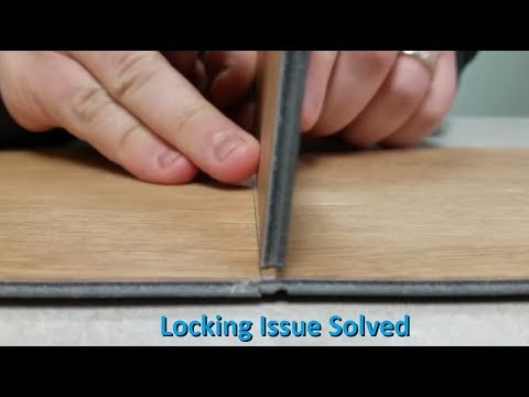 Ivc Waterproof Plank Flooring, What To Do When Laminate Flooring Wont Snap Together