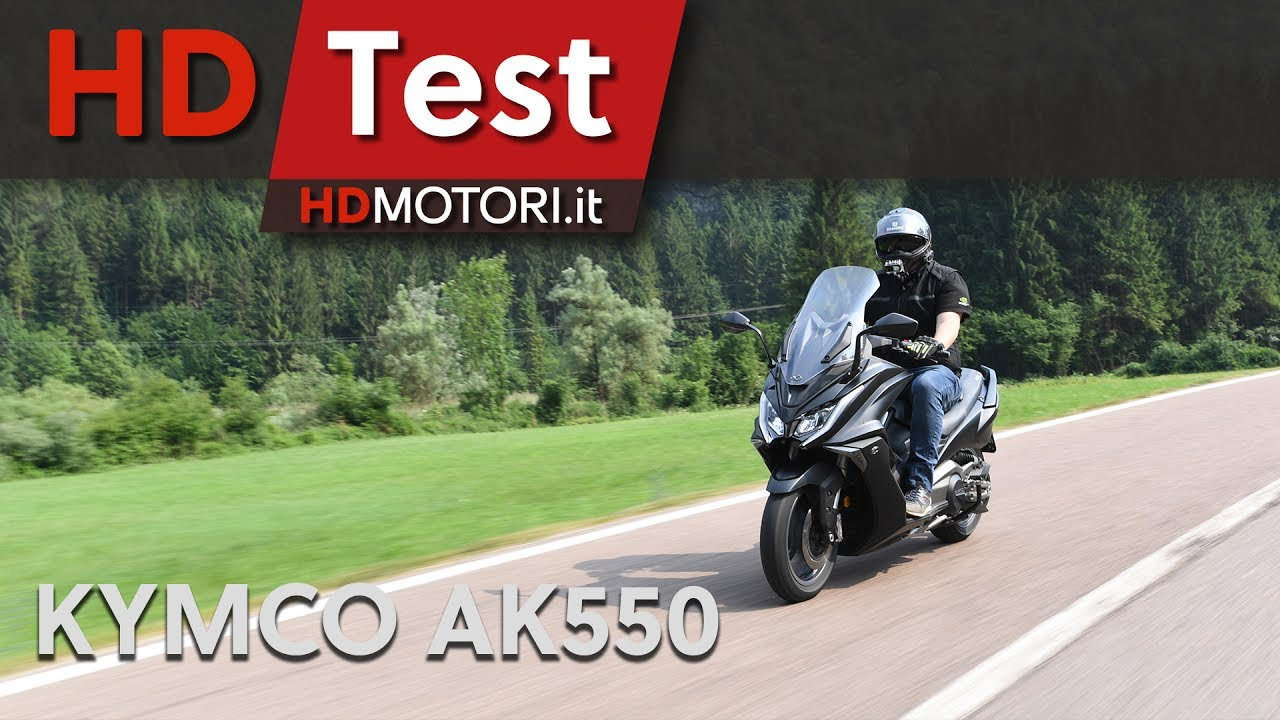 kymco ak550 maxi scooter: test ride and review | english sub - youtube