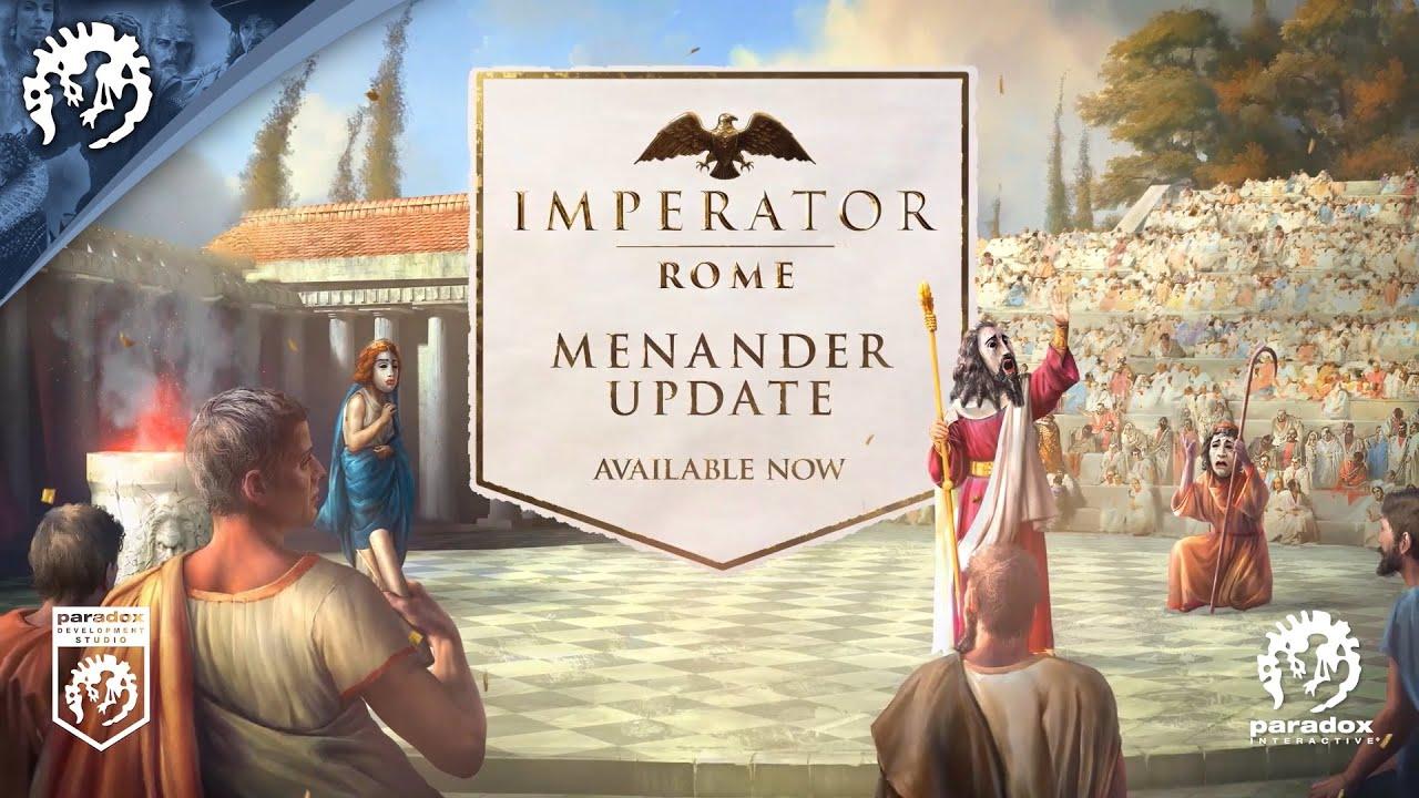 Imperator: Rome | Menander Update Trailer