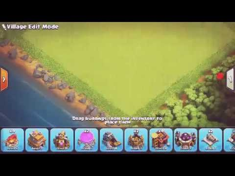 Clash of clans (small game play upgrading my TH)😉