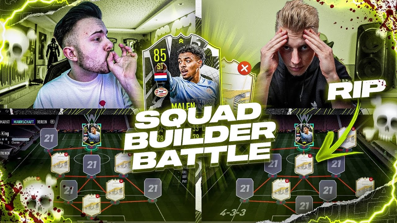 FIFA 21: MALEN nach Zahlen SQUAD BUILDER BATTLE 😱 vs Smexy 🔥
