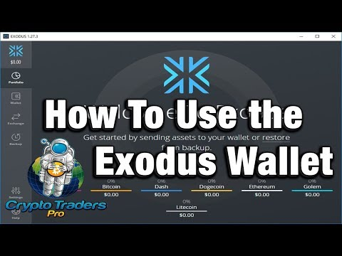 How To Use Exodus Wallet - Best Cryptocurrency Wallet 2018 - Review, Tips & Tricks