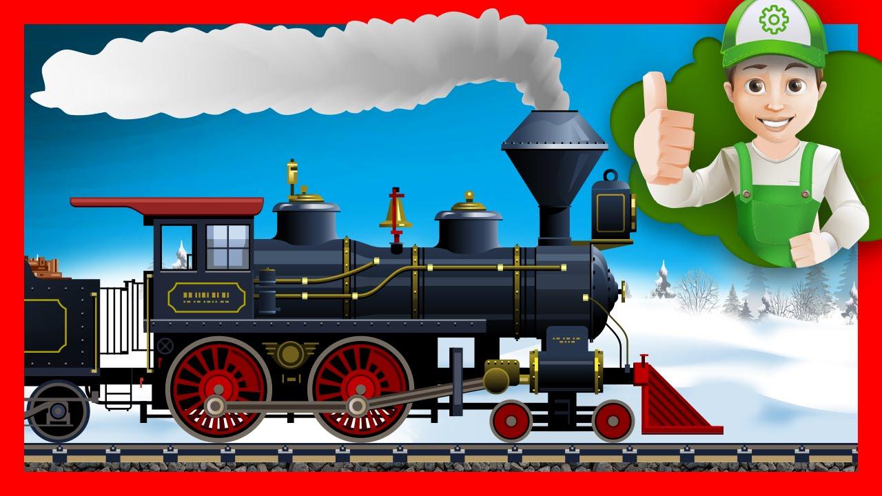 Мультик про поезд – Винтик расскажет про поезда. Хочу Знать Все