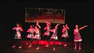 INDIAN CLASSICAL GROUP DANCE Asathoma Sathgamaya Dance Indian Group Prayer Dance by Derry Rockstars