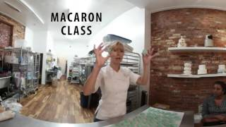 Le Dolci - Macaron Making Class with Lindsey Greflund (360 Video Teaser)