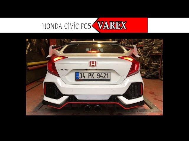 HONDA CIVIC FC5 KUMANDALI VAREX EGZOZ SESİ