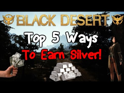 Black Desert Online: Top 5 Ways To Earn Silver
