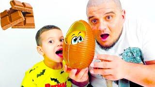 Егорка и папа и история про вредные сладости и конфеты