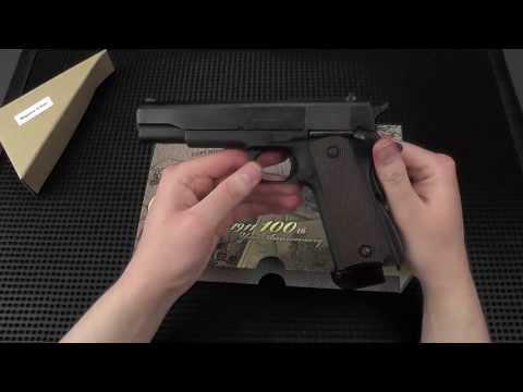Unboxing/Info/Comparison: Inokatsu Colt M1911A1 Standard Edition Full Steel CO2 GBB Pistol