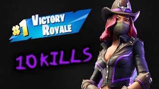 10 KILLS WITH SICK CALAMITY SKIN(Fortnite Battle Royale)