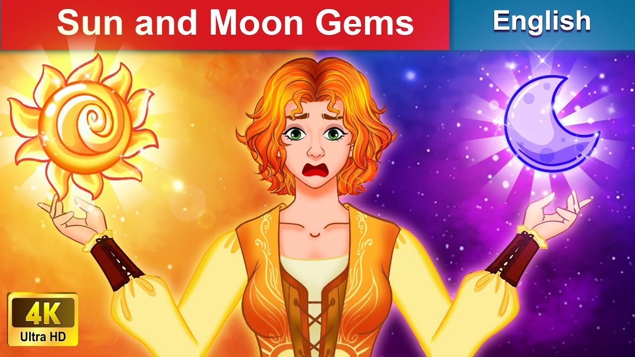 Download Sun and Moon Gems 💎 Bedtime stories 🌛 Fairy Tales For Teenagers | WOA Fairy Tales