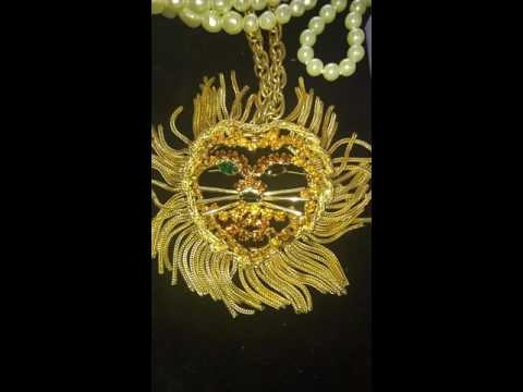 #2 EPIC Georgia Collector's Estate Sale Vintage Costume Jewelry BLING
