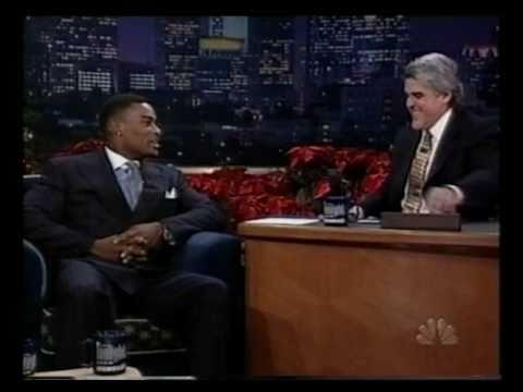 Tyson Beckford @ Jay Leno Show - late 90ies