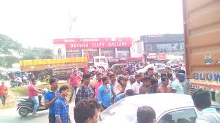 Puri Canal road accident BBSR