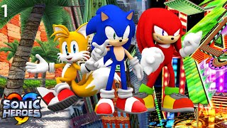 Sonic Heroes (PS3) - Team Sonic Part 1