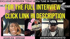 MS TEE INTERVIEW TEASER WITH VIBING WITH DON VETO