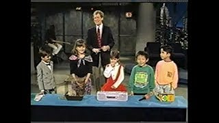 Kids Show & Tell on Late Night, November 13, 1991