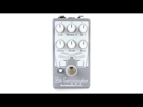 EarthQuaker Devices Bit Commander Guitar Synth Pedal Review By Sweetwater