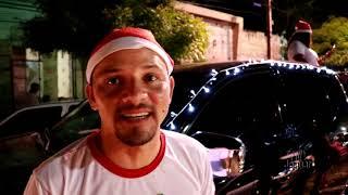 Limoeirense cria trenó de Papai Noel e faz sucesso na noite de Natal