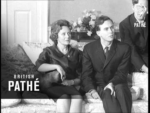 Harold Wilson And Family Pose For Press At No. 10 AKA Harold Wilson + Family (1965)