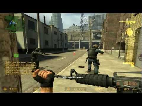Counterstrike Source cs_assault Gameplay