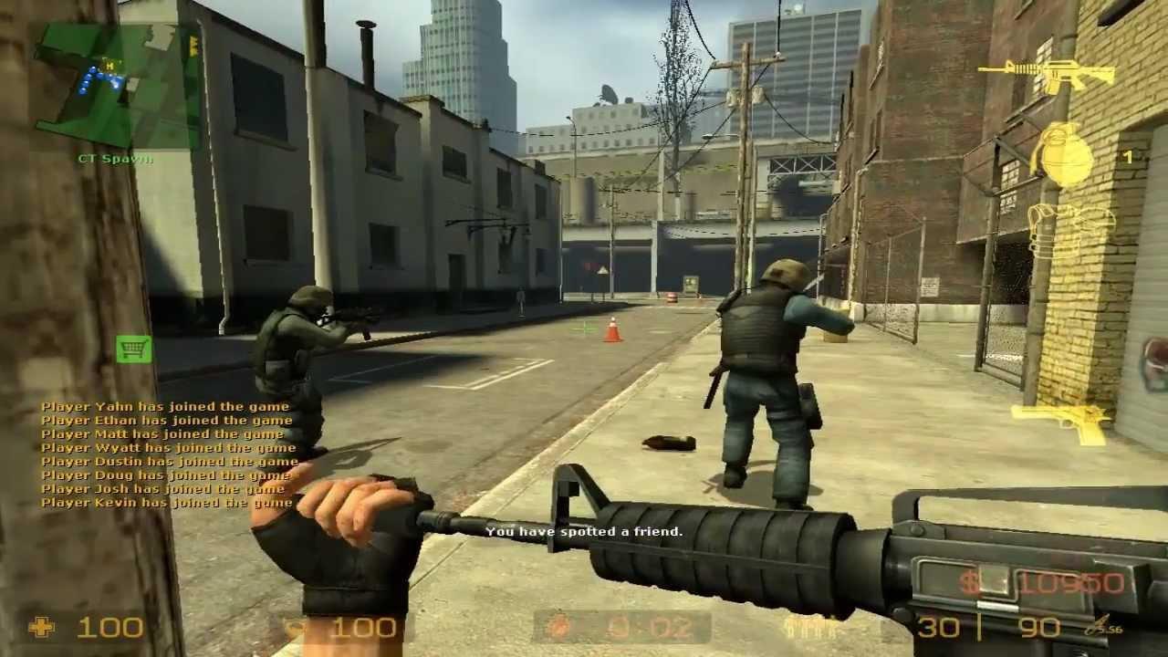 Counterstrike Source cs_assault Gameplay