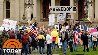 Protesters Storm Michigan Capitol As More States Debate Reopening | TODAY