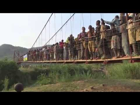Arup Rwanda Suspension Footbridge
