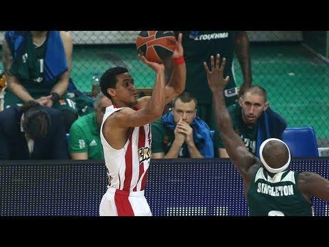 Brian Roberts Highlights vs Panathinaikos | 2017/18 Euroleague Regular Season