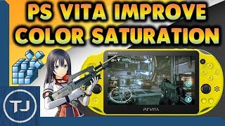 PS Vita Improve Screen Color Saturation & Sharpness!