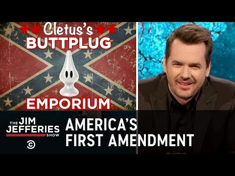 Thumbnail: Well, I Don't Know About That - America's First Amendment - The Jim Jefferies Show - Comedy Central