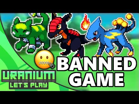 The BANNED Pokemon Game! Pokemon Uranium #1