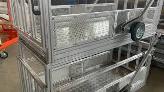 Весы для животных из алюминиевой стали