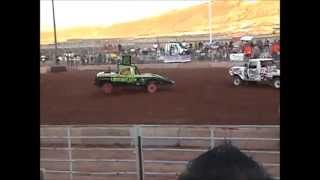 Paul Cox #64 Demolition Derby Highlights 2013