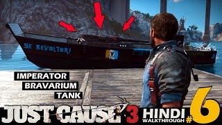 JUST CAUSE 3 Hindi Part 6 - INVINCIBLE TANK (PS4 Gameplay)