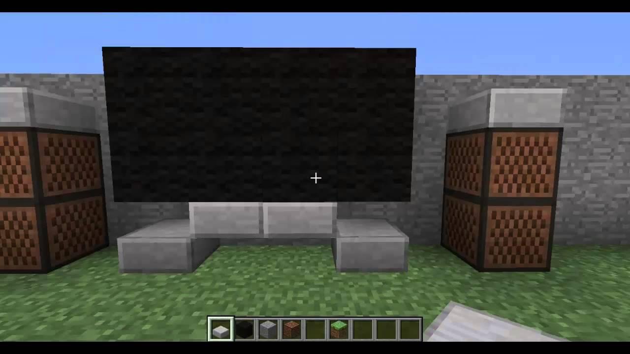 minecraft kche bauen
