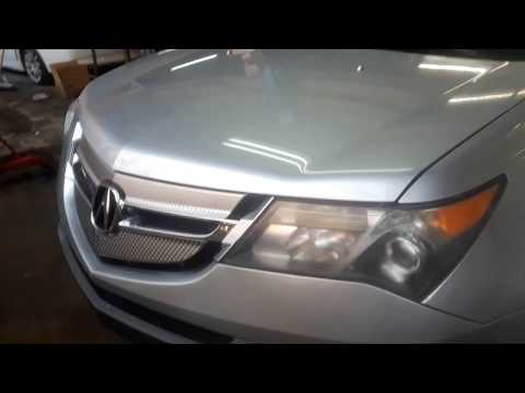 Acura / Honda MDX Paint Code Location