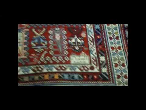 Shirvan Rug with Botehs and Date