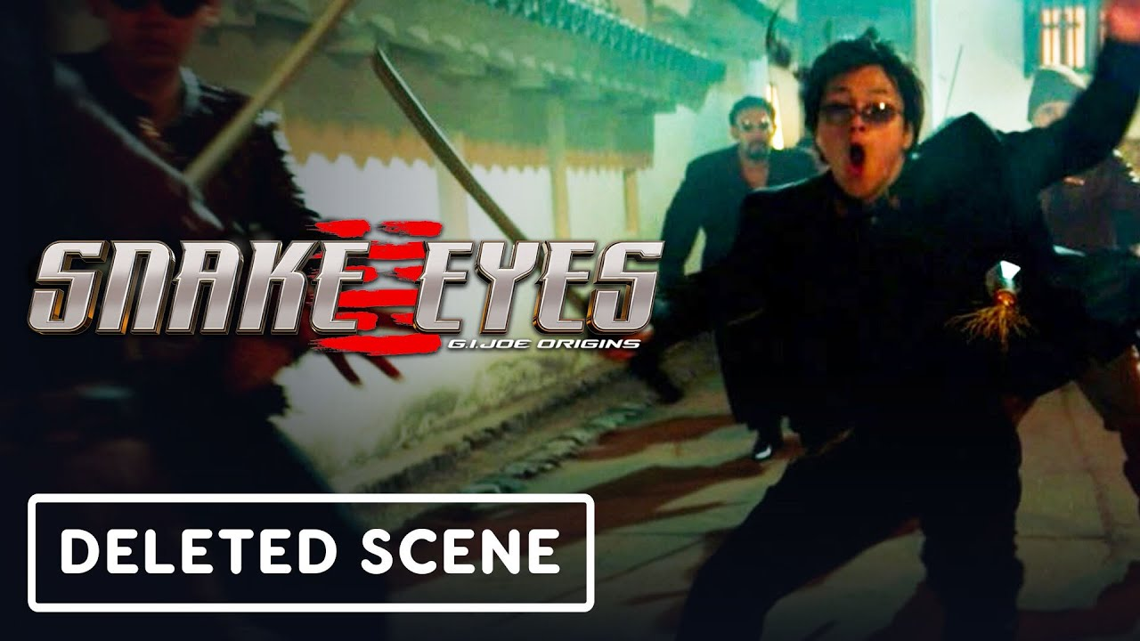 'Snake Eyes,' the new G.I. Joe movie, is now available to watch at ...