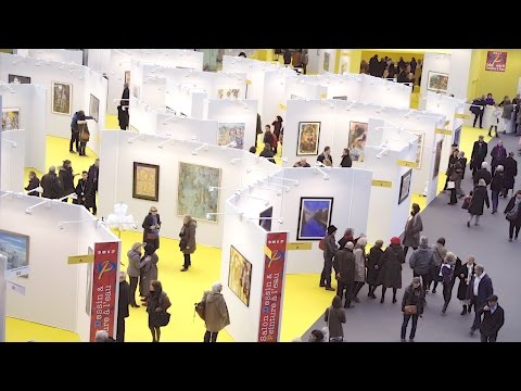 Art Capital - Vernissage Salon Dessin & Peinture à leau 2017 - Paris Grand Palais