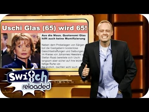 TV Total  Uschi Glas  Switch Reloaded