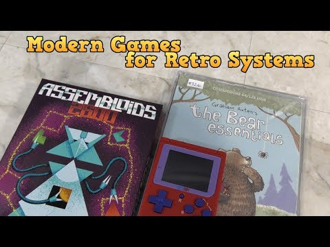 Modern Games For Vintage Systems: Assembloids, Bear Essentials, And Bittboy!