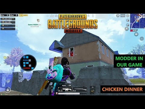 [Hindi] PUBG MOBILE | HACKER(MODDER) IN OUR MATCH BUT WE STILL WON THE GAME