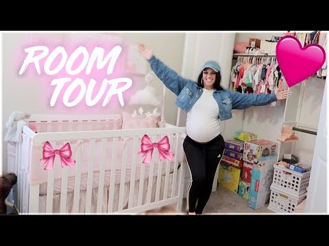 OUR BABY'S NURSERY ROOM REVEAL 💕