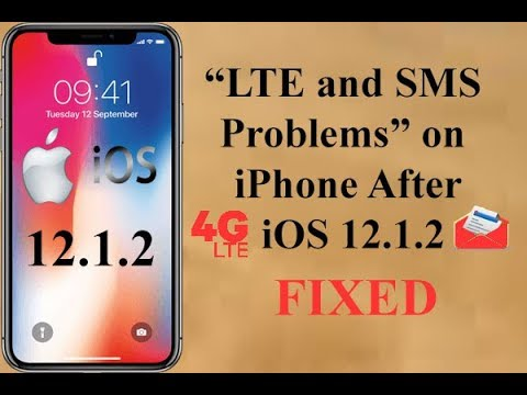 LTE and SMS Problems on iPhone After iOS 12.1.2 Update?