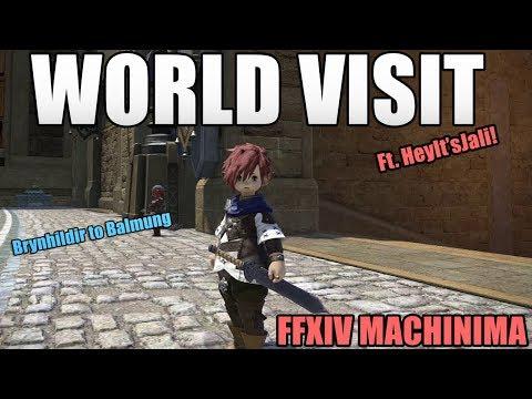 The World Visit System! (FFXIV Machinima) - YouTube
