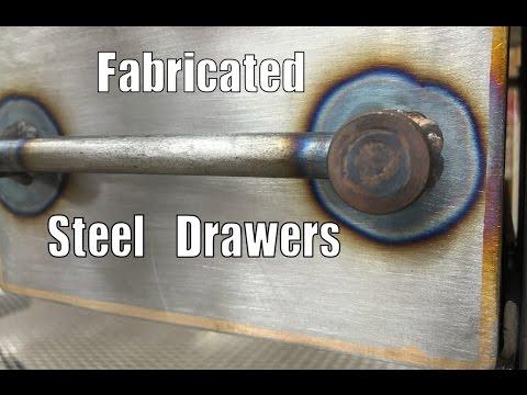 Metalwork Monday - Fabricated Steel Drawers - Bend a Metal Box - Dallas, TX 75201