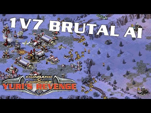 1 vs 7 Brutal Enemies - Russian Roulette  ( Command & Conquer )