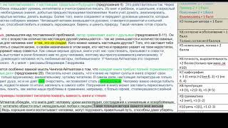 Анализ сочинения 5. ЕГЭ - по русскому языку - 2019